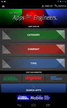 CFE Media's Apps for Engineers poster