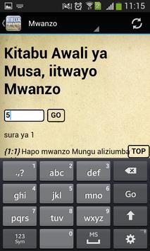 Holy Bible in Swahili Free apk screenshot