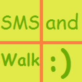 SMS and Walk :) icon