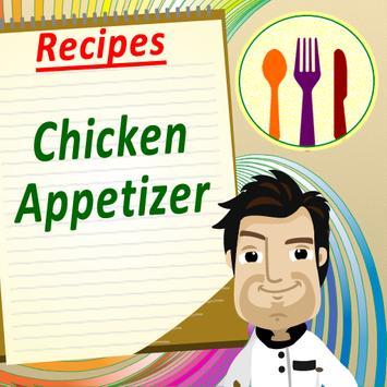 Chicken Appetizers Cookbook poster