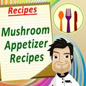 Mushroom Appetizers Cookbook icon