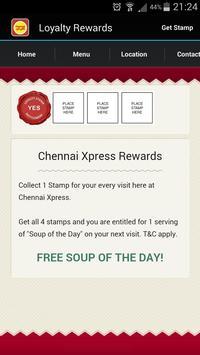 Restoran Chennai Xpress apk screenshot