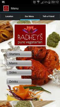 Radhey's Pure Vegetarian apk screenshot