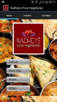 Radhey's Pure Vegetarian poster