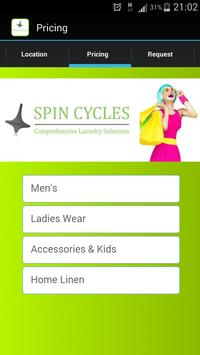 Spin Cycles Laundry Solutions apk screenshot