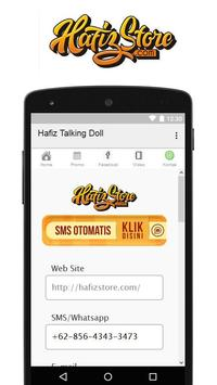 Hafiz Talking Doll apk screenshot