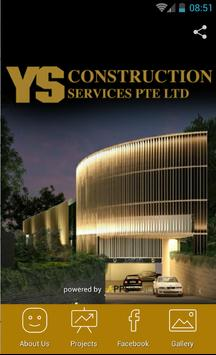 YS Construction Services poster