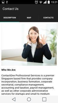 ContactOne apk screenshot