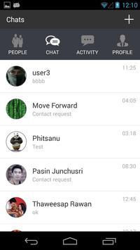 INET Chat apk screenshot