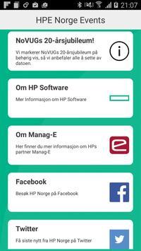 HPE Norge Events apk screenshot