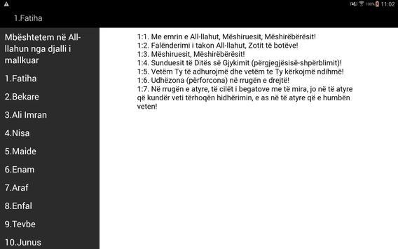 Kur'ani Shqip apk screenshot