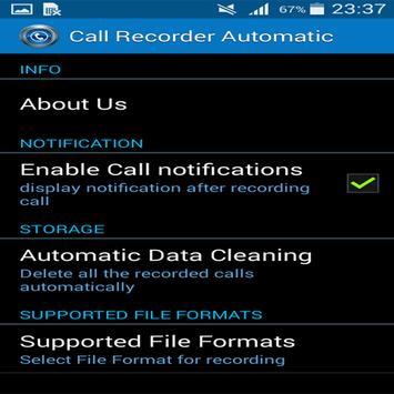 HD Enregistrement d'appel apk screenshot