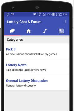 Lottery Chat - Lotto Forum apk screenshot