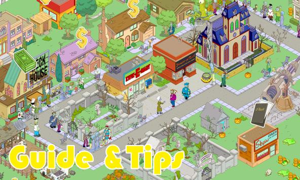 Guide for Simpsons Tapped Out poster