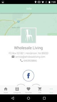 Wholesale Living apk screenshot