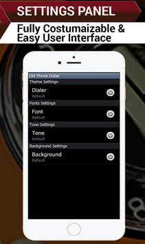 Rotary phone-Old Keypad Dialer apk screenshot