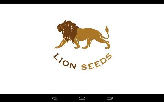 Lion Seeds poster