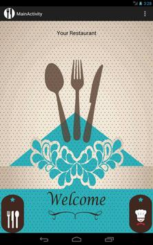 Restaurant Menu Manager poster