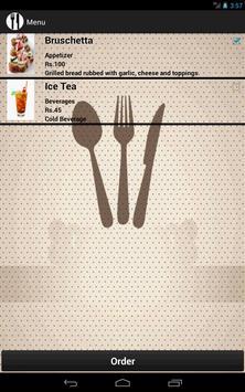Restaurant Menu Manager apk screenshot