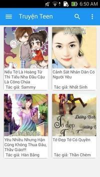 Truyện Teen Hay apk screenshot