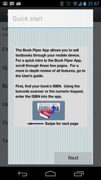 Book Piper apk screenshot