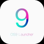 OS9 launcher -- ios theme icon