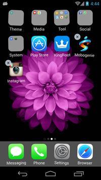 OS9 launcher -- ios theme apk screenshot