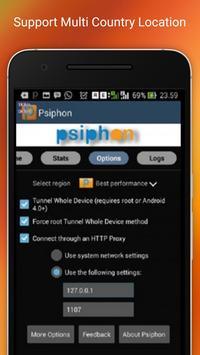 Free VPN Psiphone Pro 3 Advice apk screenshot