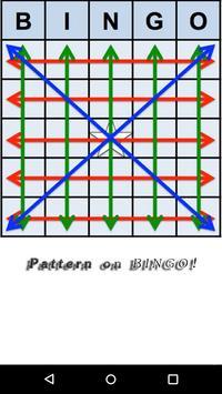 Pattern on BINGO! Game Tips poster