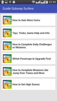 Guide Subway Surfers poster