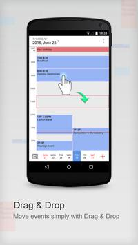 Calendar App by CalenMob apk screenshot
