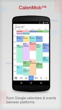 Calendar App by CalenMob poster