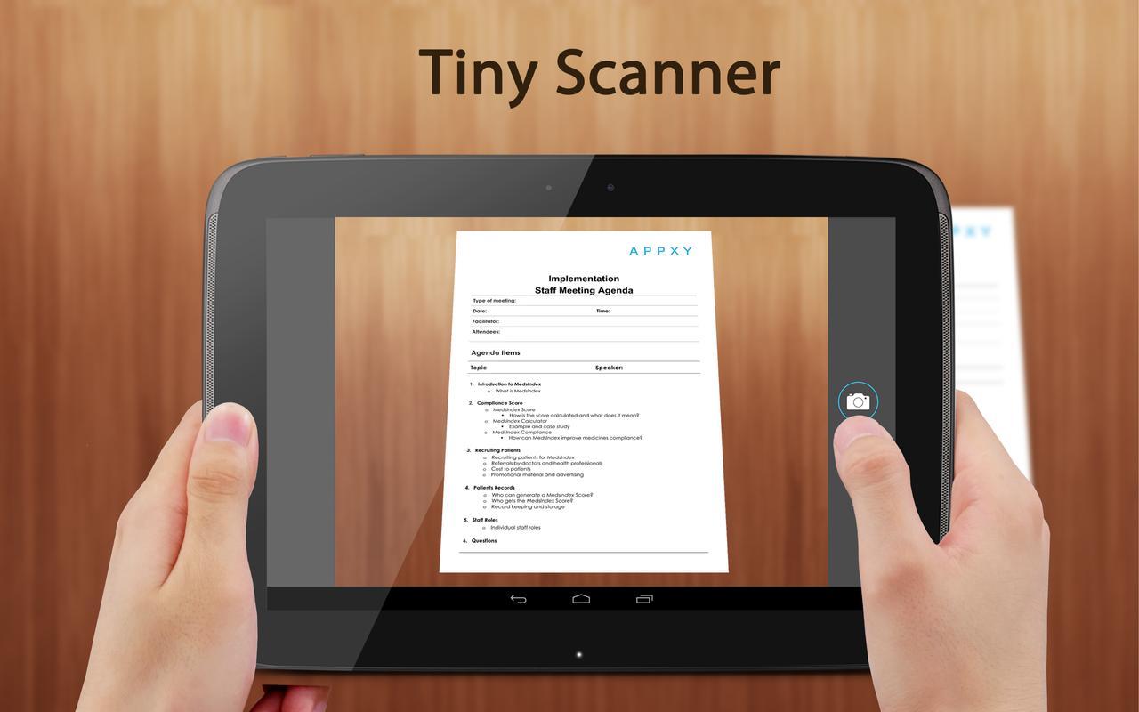 Android Scanner App Deutsch
