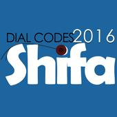 Dial Codes Shifa icon