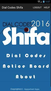 Dial Codes Shifa poster