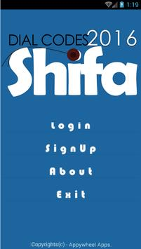 Dial Codes Shifa apk screenshot