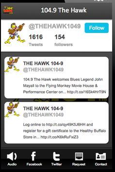 104.9 The Hawk apk screenshot