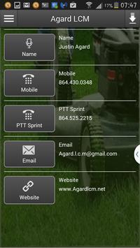 Agard LCM apk screenshot