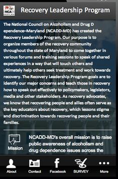 Recovery Leadership Program apk screenshot