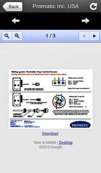 Promatic Inc. USA apk screenshot