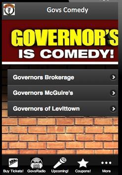 Govs Comedy poster