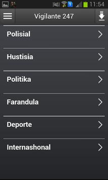 Vigilante 247 apk screenshot