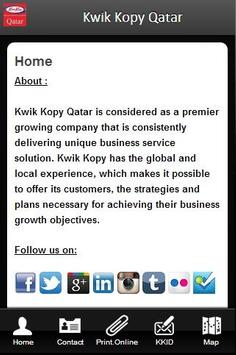 Kwik Kopy Qatar poster