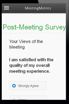 MeetingMetrics apk screenshot