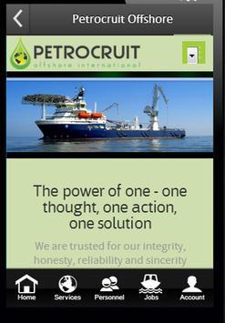 Petrocruit Offshore poster