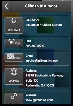 Gillman Insurance apk screenshot