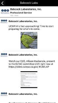 Babcock Labs apk screenshot