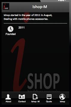 Ishop-M poster