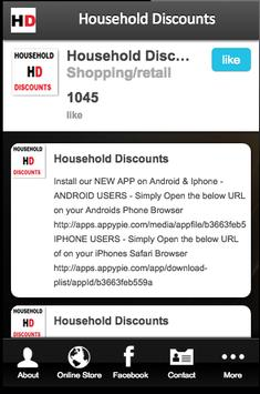 Household Discounts apk screenshot