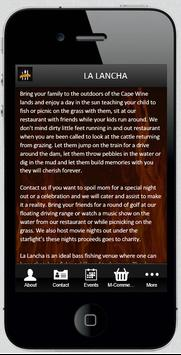 La Lancha Restaurant apk screenshot